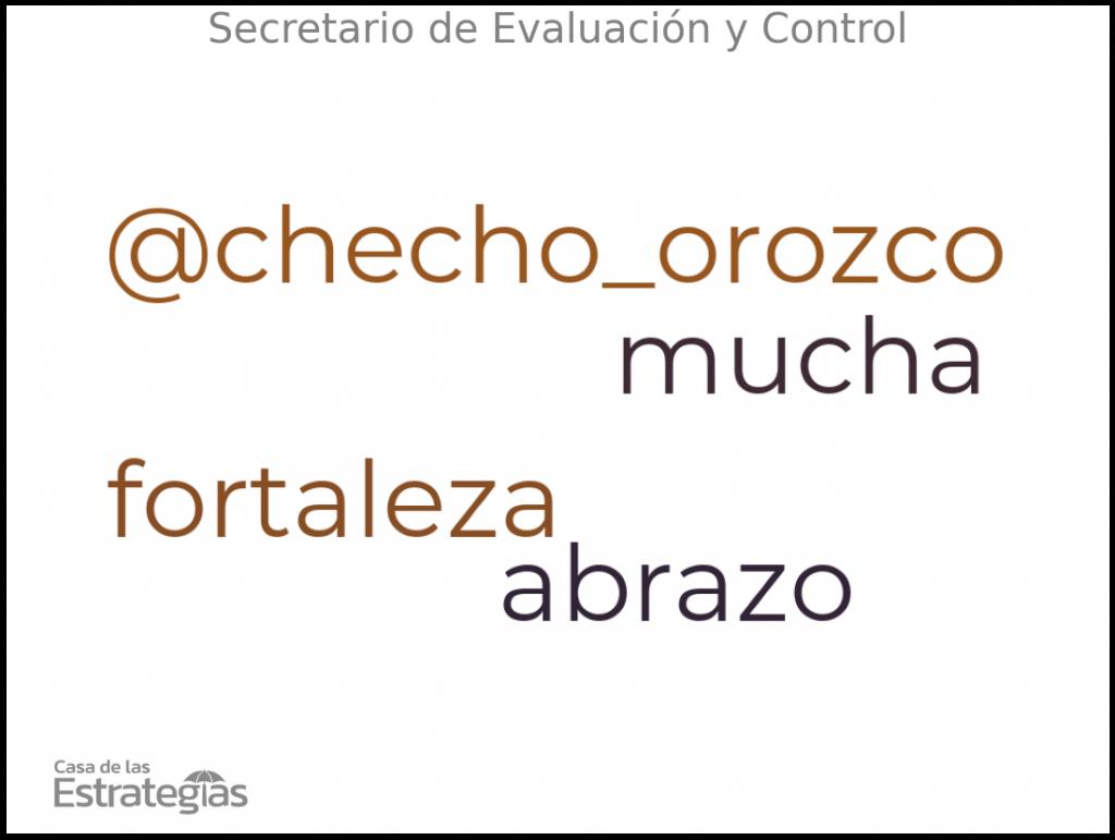 Secretario de Evaluación y Control